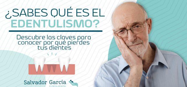 Edentulismo: la pérdida de dientes no solo en ancianos