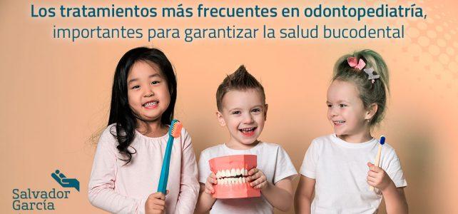 Los tratamientos más frecuentes en odontopediatría, importantes para garantizar la salud bucodental