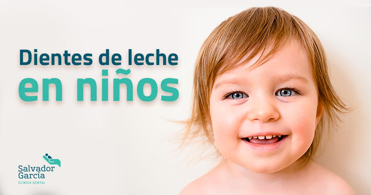 Dientes de leche en niños