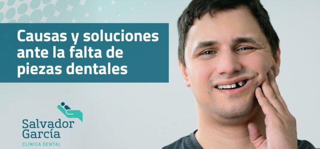 Falta de piezas dentales: Causas y soluciones.