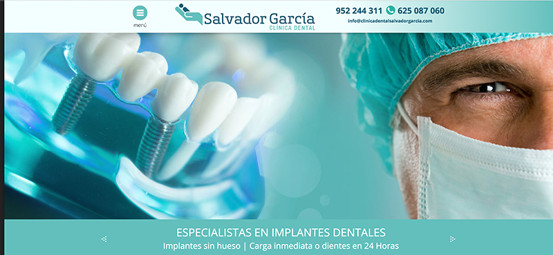 Clínica dental Salvador García.